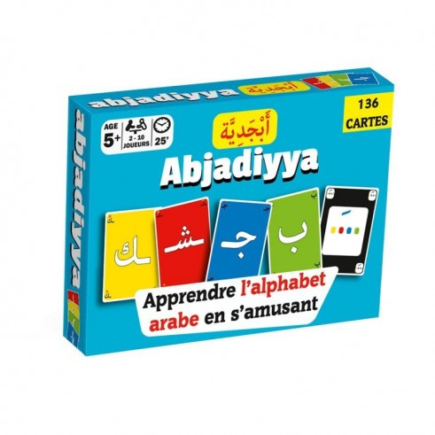 Abjadiyya: Apprendre L'alphabet Arabe En S'amusant