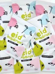 10 x Sachets de bonbons 'Eid Mubarak