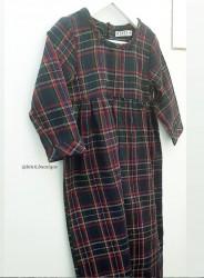 Robe Safya Bleue  - Binti Boutique