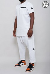 Ensemble Blanc Homme Qibla1436