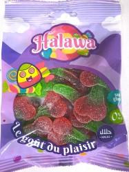 Cerises Sucrées bonbons Halal 100g Halawa