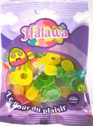 Tétines Acides bonbons Halal 100g Halawa