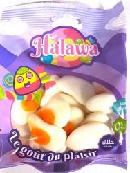 Oeufs au Plat bonbons Halal 100g Halawa