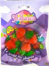 Fraises Lisses bonbons Halal 100g Halawa