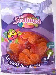 Coeur de Pêche bonbons Halal 100g Halawa