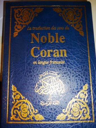 Traduction des sens du CORAN en Français