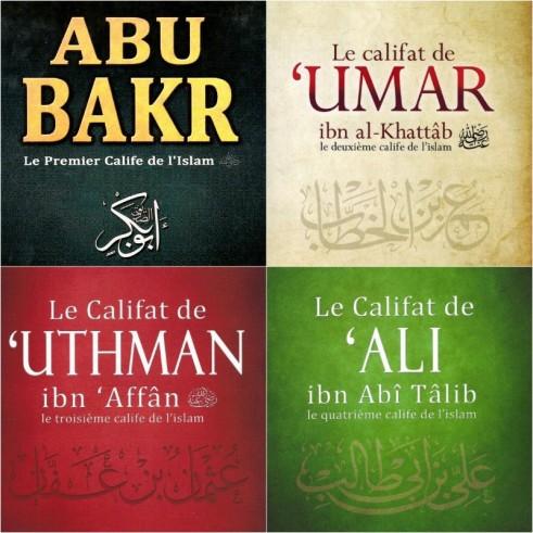 Pack des 4 Califes - ibn Kathîr