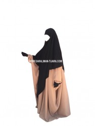 Khimar Pointu XtraLong 2 en 1 -  Dar Al Iman