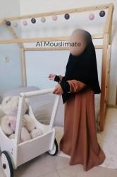 Khimar en pointe à enfiler BINTI - Al Mouslimate Dar al Iman