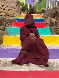"""Abaya Hijab Intégré """"Binti"""" Dar Al Iman"""
