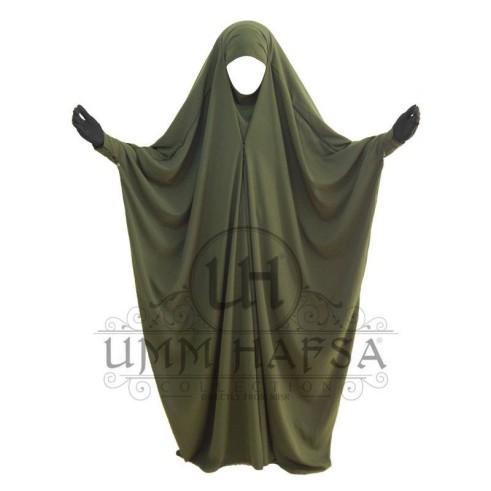 Jilbab saoudien Umm Hafsa à clips KAKI