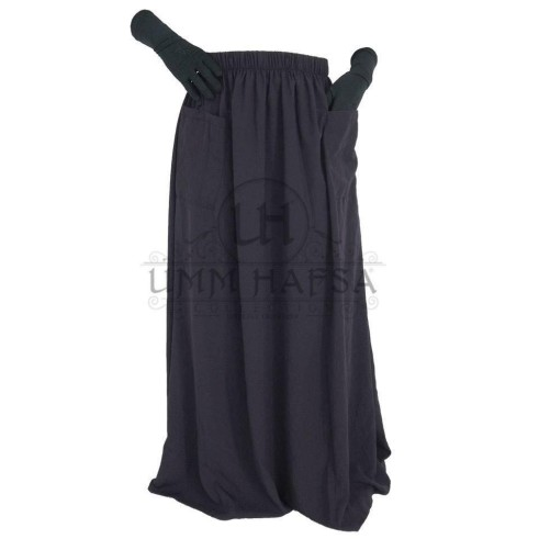 "Jupes à poches ""Umm Hafsa"" GRIS"