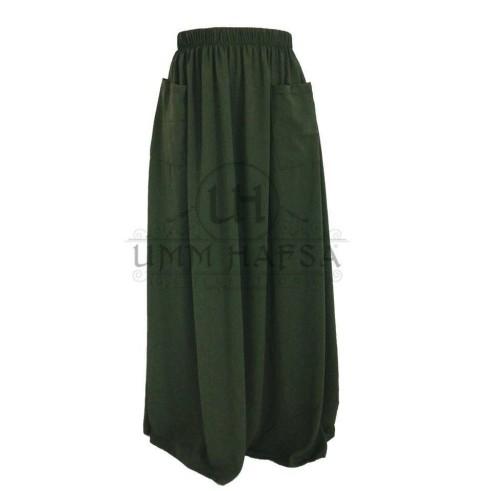 "Jupes à poches ""Umm Hafsa"" KAKI"