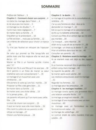 Mariage Islamique en Questions-Réponses - Ifta