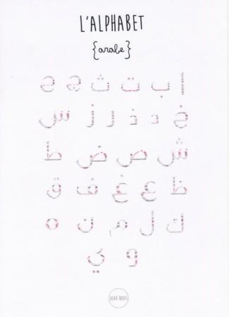 Affiche Alphabet arabe