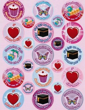 Stickers pour Filles