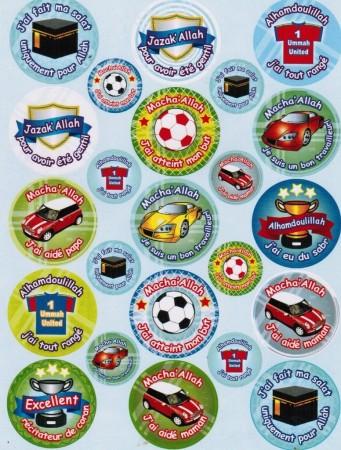 Stickers pour Garçons