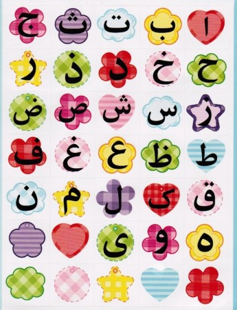 Stickers Alphabet Arabe