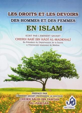 Les Droits et les Devoirs des Hommes et des Femmes en Islam - Cheikh Rabi', Cheikh al Fawzan