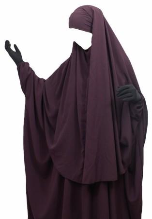 'Abaya + Hijab Umm Hafsa PRUNE