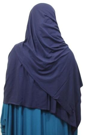 Maxi-Hijab Stretch BLEU NUIT