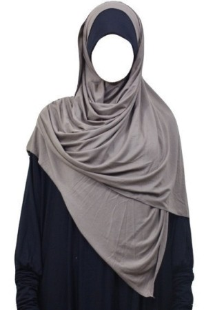 Maxi-Hijab Stretch TAUPE