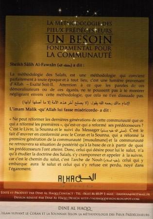 Lot de 10 Livres La Methodologie des Pieux Predecesseurs, un Besoin pour la Communauté - Sheikh al Fawzan
