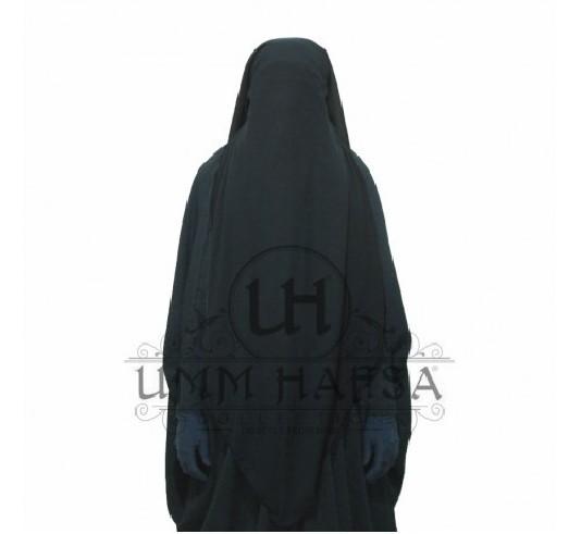 Niqab Casquette 95cm PRUNE