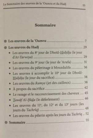 Le Sommaire des Oeuvres de la 'Oumra et le Hajj - Sheikh Ferkous