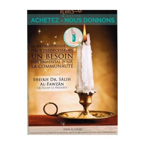 Lot de 10 Livres La Methodologie des Pieux Predecesseurs (achetez nous donnons)