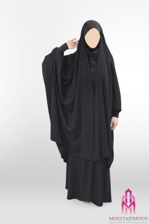 Jilbab Al Houda Caviary 2 pièces