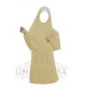Abaya Hijab Fillette Umm Hafsa VANILLE