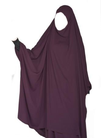Jilbab Al Houda Caviary AUBERGINE