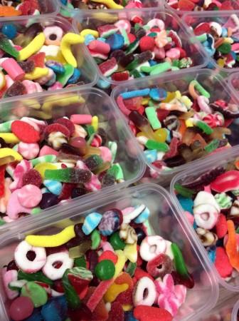 Loose candies'Box 1kg