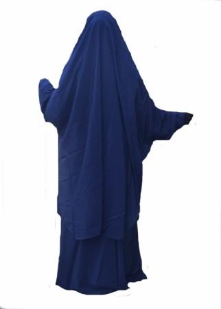 Jilbab 2pièces AL Haya BLEU NUIT