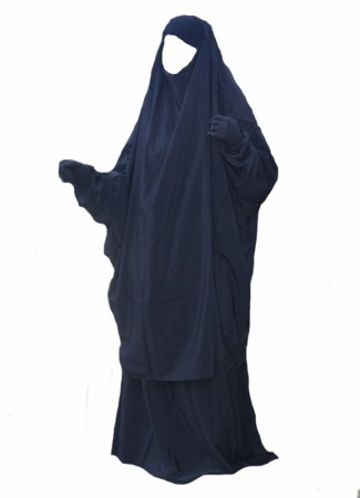Jilbab 2pièces Al Haya NOIR