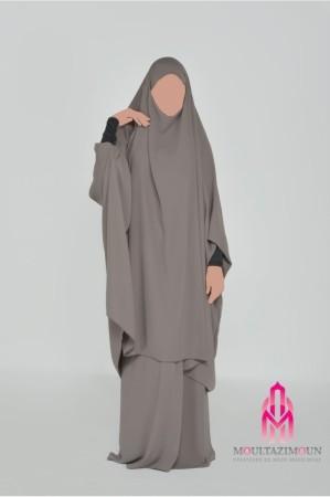 Jilbab Al Houda Caviary TAUPE