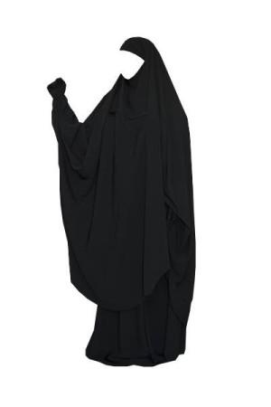 "Jilbab de portage/allaitement ""As Salafiyat"" NOIR"